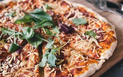 Pizzateig aus Dinkelmehl
